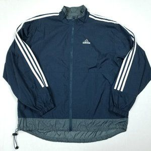 Adidas Men's Vintage Windbreaker Medium EUC